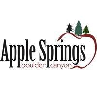 Apple Springs Resort in Boulder Canyon