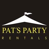 Pats Party Rentals