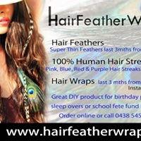 Hair Feather Wrap