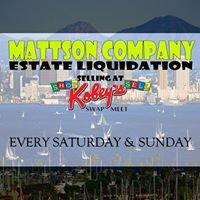 Mattson Co. San Diego's Estate sale & Liquidation service