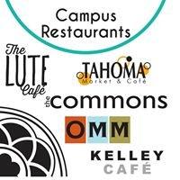 PLU Campus Restaurants