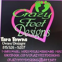 Crazy Feet Designs