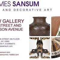 James Sansum Fine and Decorative Art