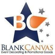 Blank Canvas Event Decorating and Promotional Goods