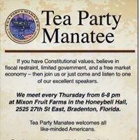 Tea Party Manatee
