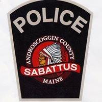 Sabattus, Maine Police Department