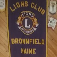 Brownfield-Maine- Lions Club