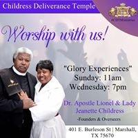 Childress Deliverance Temple Ministries Inc.