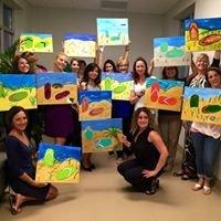 Paint & Pour Palm Beach Art Parties