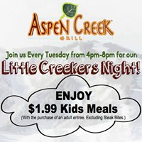 Aspen Creek Grill - Noblesville, Indiana