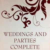 Weddings & Parties Complete