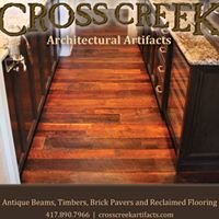 Cross Creek Architectural Artifacts