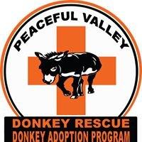 PVDR's Donkey Adoption