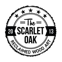 The Scarlet Oak Reclaimed Wood Art