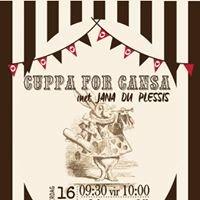 Cuppa for CANSA ngk buffeljagsrivier