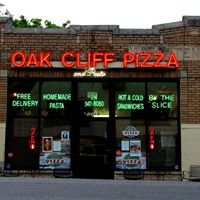 Oak Cliff Pizza