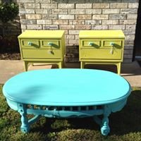 Upton's Funky & Fabulous - Hand Painted Furniture