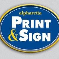 Alpharetta Print & Sign