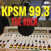 "99.3-FM KPSM ""The Rock"""