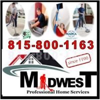 Midwest.  Carpet Upholstery Air Duct Cleaning