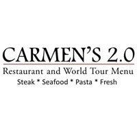 Carmen's 2.0 Restaurant and World Tour Menu