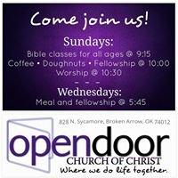 OpenDoor Church of Christ