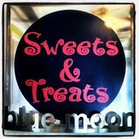 Blue Sweets and Moon Treats