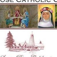 St Rose Catholic Church, Santa Rosa California