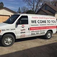 Winnipeg Mobile Lawnmower Tune-Up $49.95