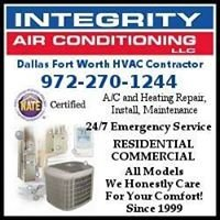 Integrity Air Conditioning, LLC