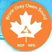 Bruce-Grey-Owen Sound NDP Riding