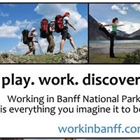 Working in Banff National Park