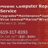 Mobile Computer Repair Service of California