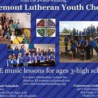 Clairemont Lutheran Children's and Youth Choirs