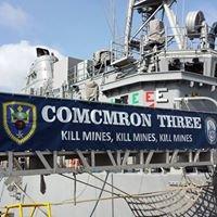 Commander Mine Counter-Measures Squadron THREE