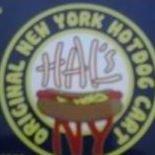 Hal's Original New York Hot Dog Cart