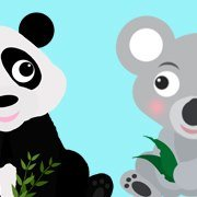 Panda and Koala Kids
