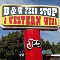 B & W Feed Stop