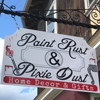 Paint Rust and Pixie Dust