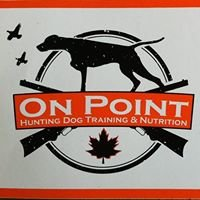 On POINT - Hunting Dog Training and Nutrition