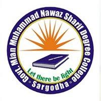 Govt Nawaz Sharif Degree College Sargodha - Boys
