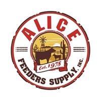 Alice Feeders Supply
