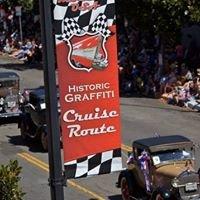 Modesto Historic Graffiti Cruise Route