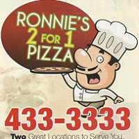 Ronnie's 2 for 1 Pizza