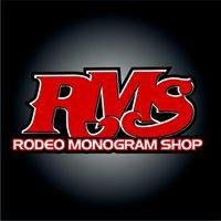 Rodeo Monogram Shop