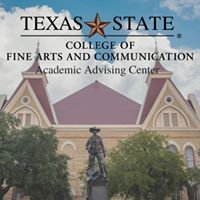 Texas State-College of Fine Arts & Communication Advising Center