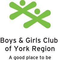 Boys and Girls Club of York Region