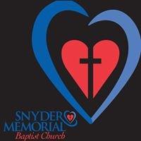 Snyder Memorial Baptist Church in Fayetteville NC
