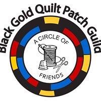 Black Gold Quilt Patch Guild