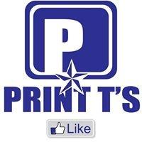Print T's